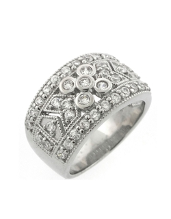 Cubic Zirconia Ring by Lord & Taylor in Hitman: Agent 47