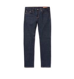 Jim Skinny-Fit Selvedge Rinsed-Denim Jeans by Jean Shop in Jason Bourne