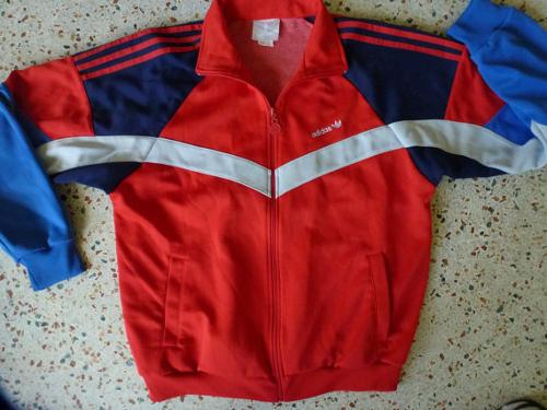 Warm Up Jacket Red White And Blue Track Style by Adidas in Anchorman 2: The Legend Continues