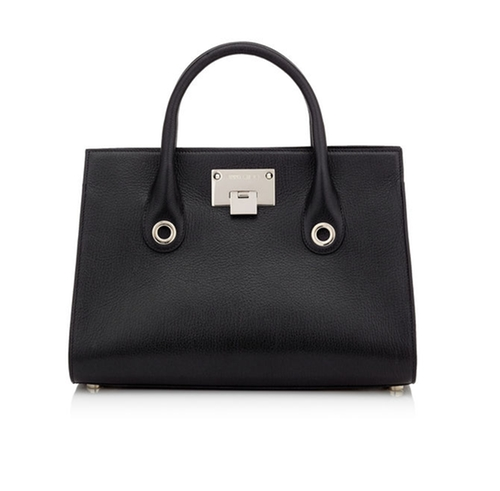 Riley M Leather Tote Bag by Jimmy Choo in The Good Wife - Season 7 Episode 21