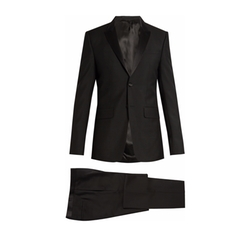 Wool and Mohair-Blend Tuxedo Suit by Givenchy in Power