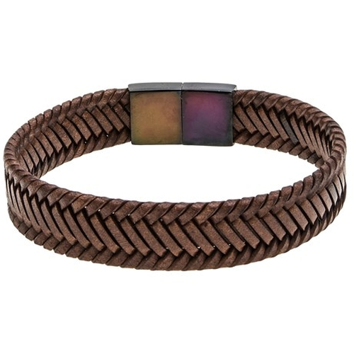 Braided Leather Bracelet by Link Up in Modern Family - Season 7 Episode 2