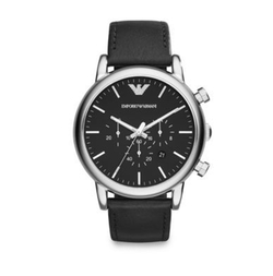 Stainless Steel Chronograph Watch by Emporio Armani in The Leftovers