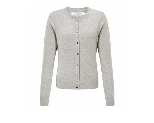 Crew Neck Cashmere Cardigan by John Lewis in Me Before You