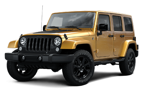 Wrangler Unlimited Altitude by Jeep in Interstellar