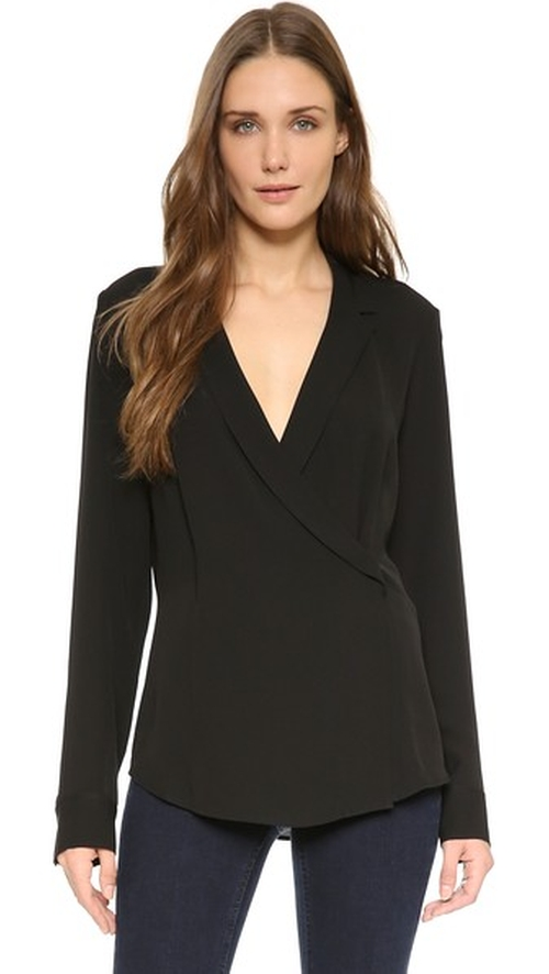 Vihona Blouse by Theory in Billions - Season 1 Episode 6
