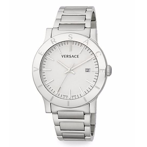 Acron Engraved Stainless Steel Watch by Versace in Empire - Season 2 Episode 11