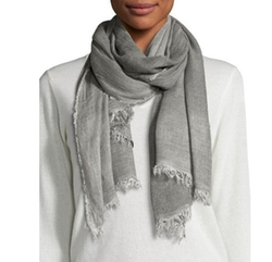 Cozy Maltinto Textured Scarf by Eileen Fisher in 13 Reasons Why