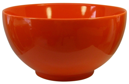 Fun Factory II Orange Medium Serving Bowl by Waechtersbach in Trainwreck