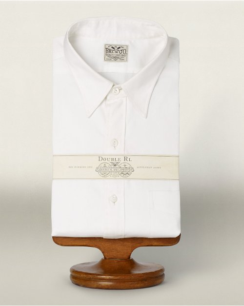 Broadcloth Dress Shirt by Ralph Lauren in The Man from U.N.C.L.E.