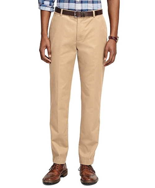 Milano Fit Vintage Washed Chino Pants by Brooks Brothers in Ballers
