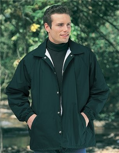 Nylon Coach Jacket by A&E Designs in The Hundred-Foot Journey