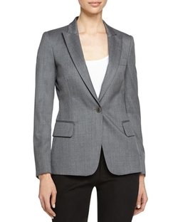 Blazer-Style Wool Jacket by Stella McCartney   in Scandal