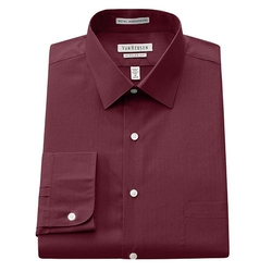 Royal Herringbone Spread-Collar Dress Shirt by Van Heusen in How To Get Away With Murder