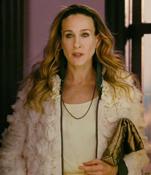 White Short Dress by Nina Ricci in Sex and the City