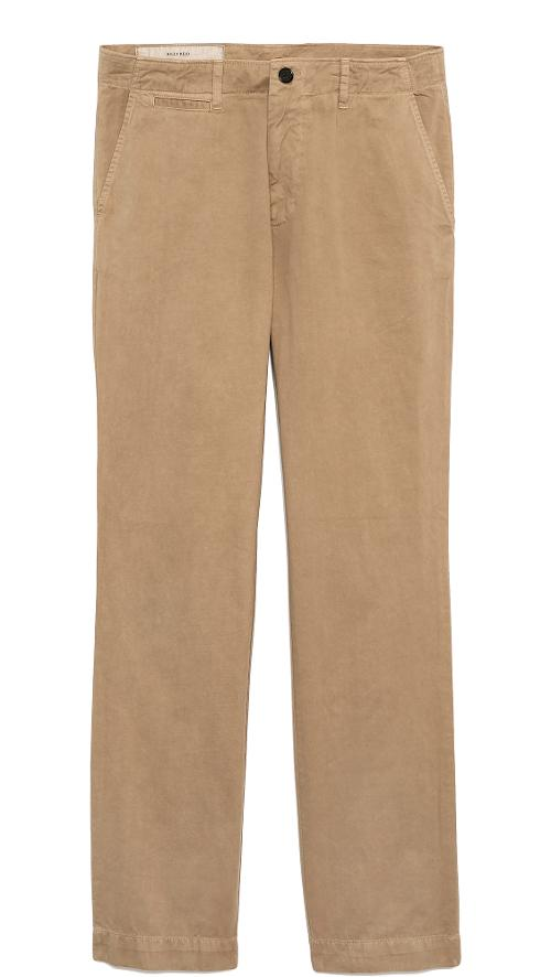 Wynn Brushed Chinos by Billy Reid in Kingsman: The Secret Service