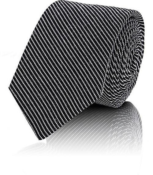Diagonal-Striped Woven Necktie by Rag & Bone in Side Effects