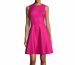 Sleeveless Fit-&-Flare Dress by Michael Kors Collection  in Mike and Dave Need Wedding Dates