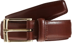 Leather Belt by Crockett & Jones in Supergirl