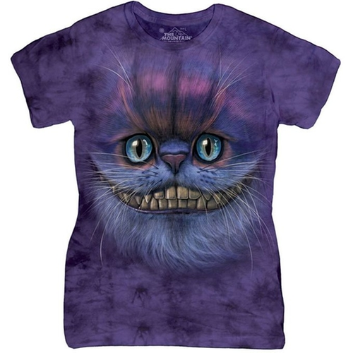Big Face Cheshire Cat Graphic T-Shirt by The Mountain in Unbreakable Kimmy Schmidt - Season 2 Episode 11