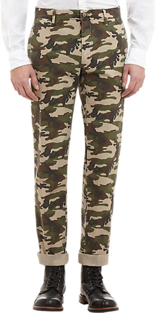 Camouflage-Patterned Trousers by Mason's in Ballers - Season 1 Episode 2