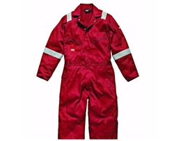 Hi-Vis Stripe Workwear Coverall by Dickies  in Deepwater Horizon