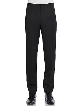 Slim-Straight Virgin Wool Trousers by Burberry Prorsum in The Gift