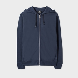 Organic-Cotton Zip-Front Hoodie by PS by Paul Smith in 13 Reasons Why