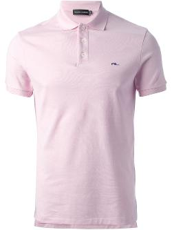 Logo Polo Shirt by Ralph Lauren Black in Neighbors