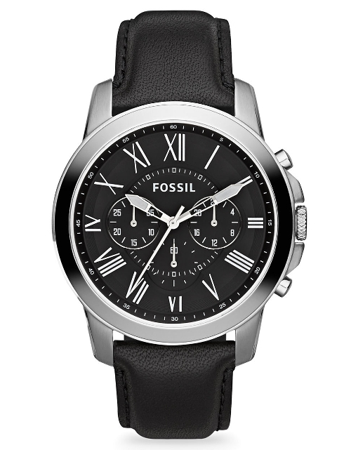 Grant Chronograph Watch by Fossil in Jurassic World