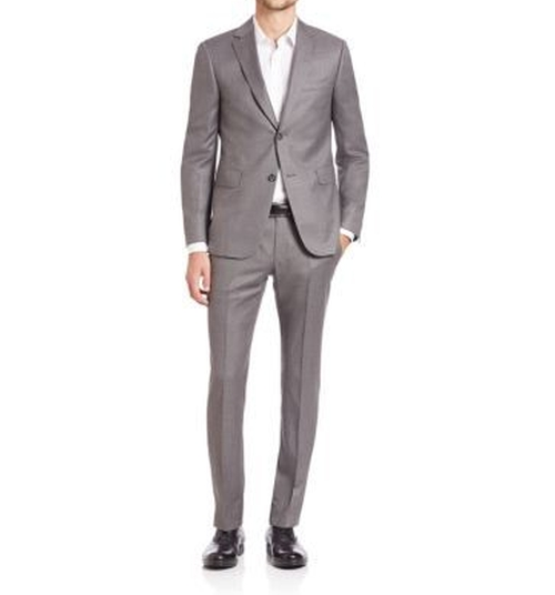 Techmerino Slim-Fit Wool Suit by Z Zegna in The Good Place - Season 1 Episode 7