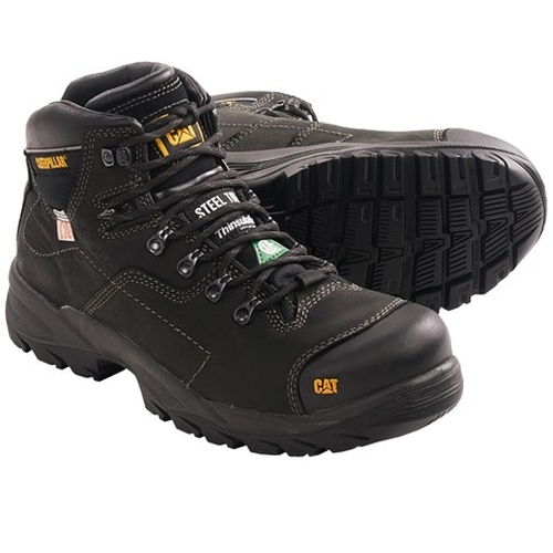 Coolant C.S.A. Steel Toe Boots by Caterpillar in A Walk in the Woods