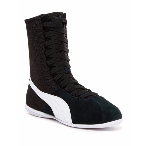 Eskiva Hi Textured Boot Sneakers by Puma in The Flash
