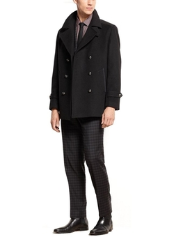 Double Breasted Peacoat by Bar III in Arrow