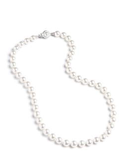 Knotted Faux Pearl Necklace by Nardi in Secret in Their Eyes