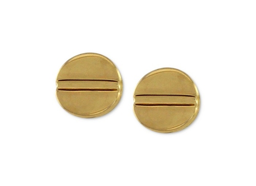 Gold-Tone Basic Stud Earrings by Vince Camuto in Pretty Little Liars - Season 6 Episode 15