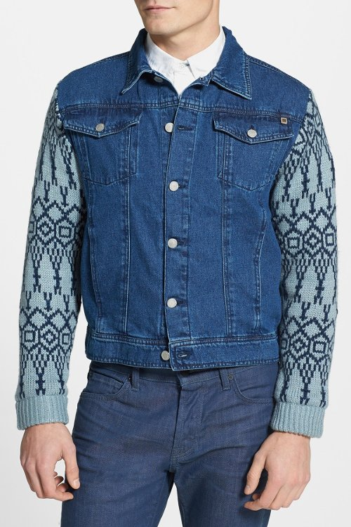 'Revival' Denim Knit Sleeves Vest by Insight in Kick-Ass