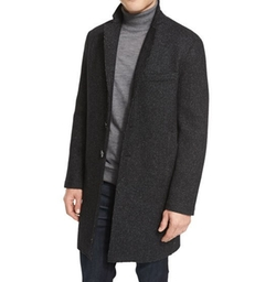Wool-Blend Knit Crombie Coat by Michael Kors in The Bachelor