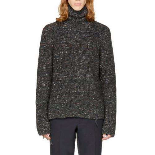 Donegal Wool Turtleneck Sweater by Maison Margiela in Jason Bourne