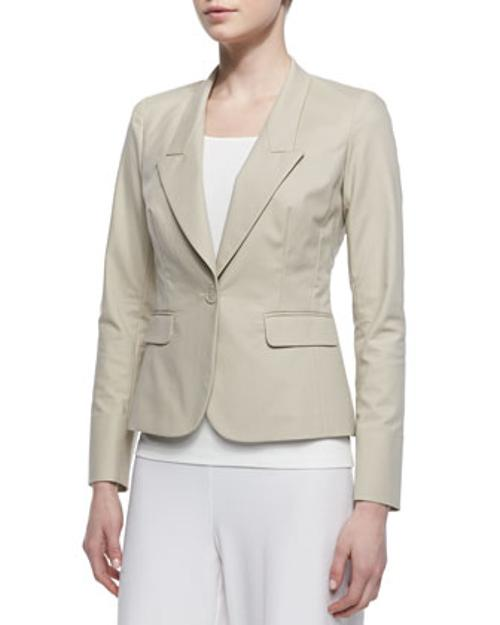 One-Button Jacket by Lafayette 148 New York in The Hundred-Foot Journey