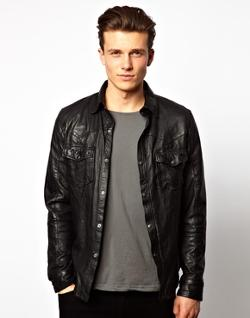 Leather Jacket by BARNEYS in This Is Where I Leave You