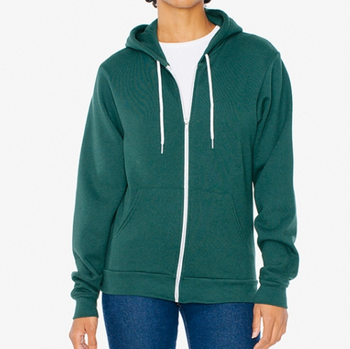Unisex Flex Fleece Zip Hoodie by American Apparel in The Good Place - Season 1 Episode 3