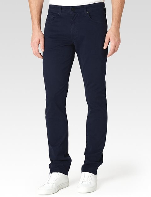 Federal Navy Cadet Jeans by Paige in We Are Your Friends