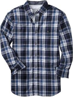 Men's Plaid Slim-Fit Shirts by Old Navy in Sabotage