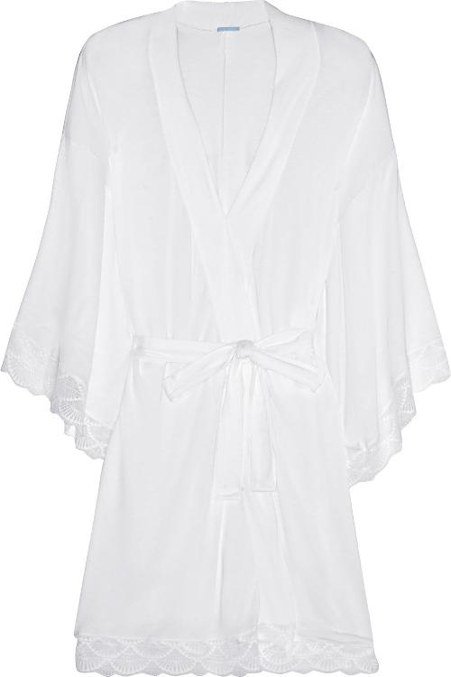Matilda Lace-Trimmed Jersey Robe by Eberjey in Frank Miller's Sin City: A Dame To Kill For