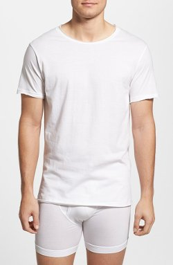 Crewneck T-Shirt by Bread & Boxers in Hall Pass