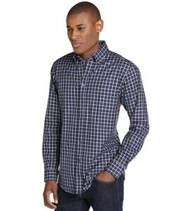 Check Cotton Spread Collar Shirt by Zegna Shirt in Brooklyn Nine-Nine