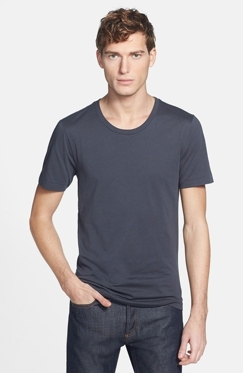 'T-Shirt 3' Pima Cotton T-Shirt by BLK DNM in Fifty Shades of Grey