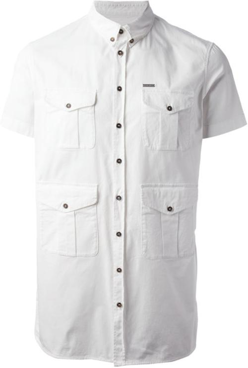 Pocket Detailed Shirt by DSquared2 in Couple's Retreat