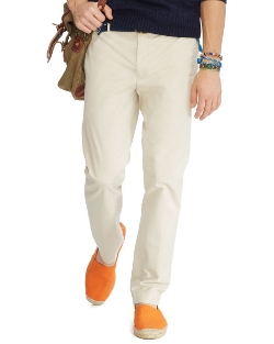 Slim-Fit Stretch Chino Pants by Ralph Lauren in Love & Mercy